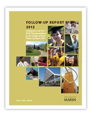 Follow-Up Report 2012