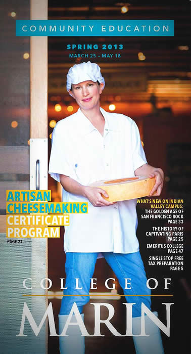 College of Marin Artisan Cheesemaking Cert Program