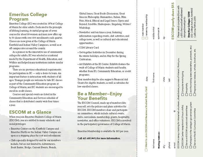 ESCOM Brochure Page 2