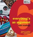 orange book cover - everything's an argument