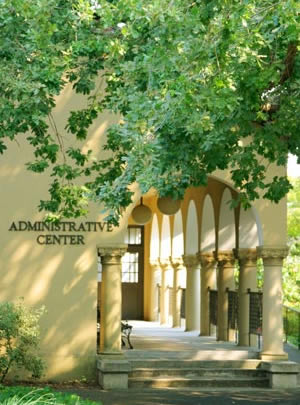Administrative Center at the Kentfield Campus.